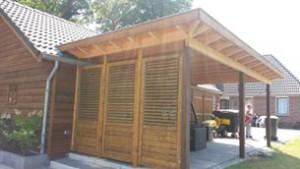 Veranda met shutters in Gorssel